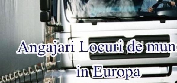 Şoferii români sunt căutaţi în Europa