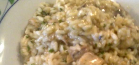 La ricetta del risotto con lo sgombro