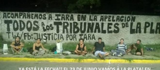 Iara Carmona: audiencia en La Plata