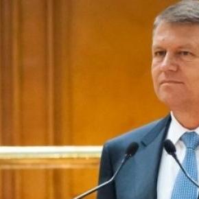 Klaus Iohannis s-a adresat Parlamentului