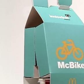 'McBike' is the new takeaway service of McDonald's