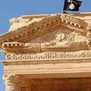 Steagul ISIS  flutură pe patrimoniul UNESCO im AFP
