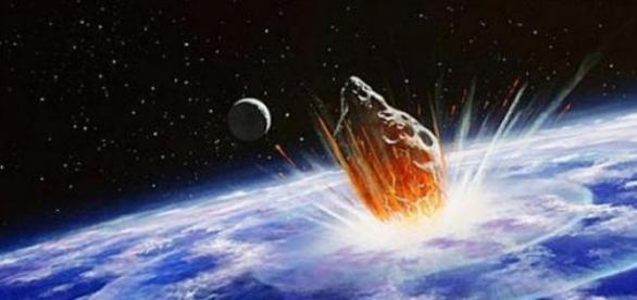 Impactul unui asteroid cu Pământul