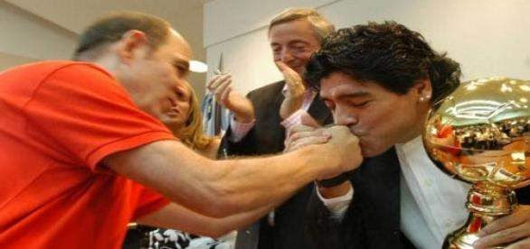 Maradona sempre primou por ser polémico