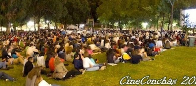Cinema ao ar livre 2015 na quinta das conchas
