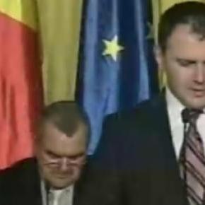 Sebastian Ghiţă la tribuna Parlamentului