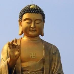 Buddha is a false god. He was once alive as a man.