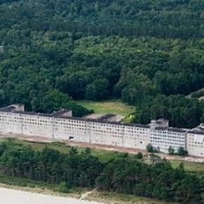 Complex nazist construit pe o insula