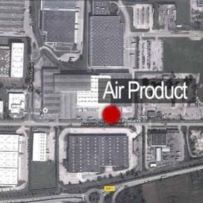 L'attentat a eu lieu à Air Product, Source BFM TV