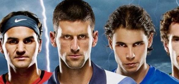 Wielka czwórka faworytów Wimbledonu.