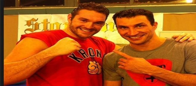 'The man who I'm about to dethrone' - Tyson Fury