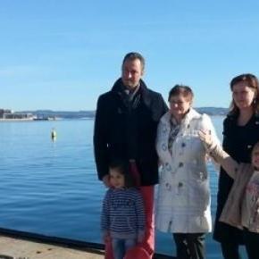 Aurel Truţă, alături de familie