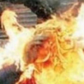 Un român s-a autoincendiat in Aprilia