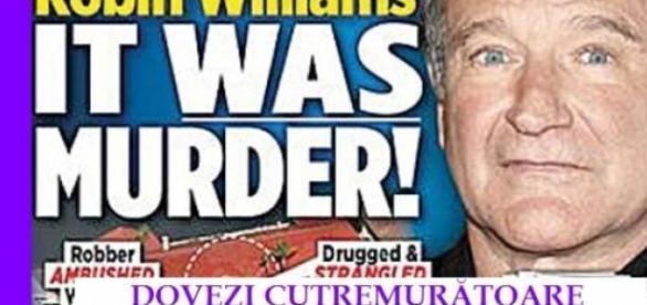 Marele actor Robin Williams a fost omorât.