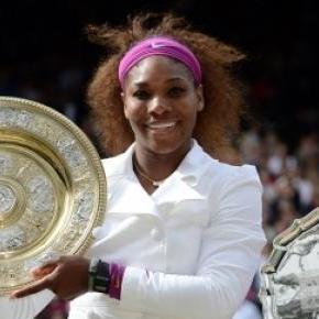 Agnieszka Radwańska w finale Wimbledonu w 2012 r.