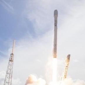 Rachetă SpaceX lansată pe orbită