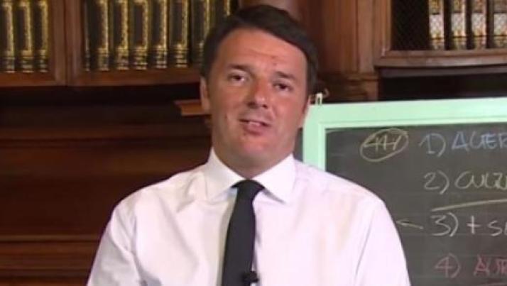 Buona scuola Renzi e i docenti 'cavia', ricordando la riforma pensioni Fornero