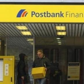 Die Post heißt häufig jetzt Postbank Finanzcenter.
