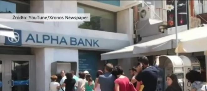 Kryzys w Grecji uderza w strefę euro