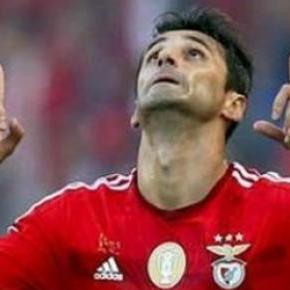 Jonas chegou ao Benfica dispensado pelo Valência.