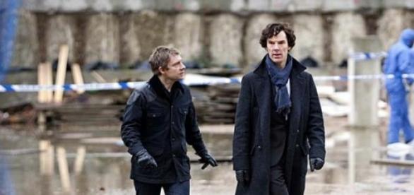 Benedict Cumberbatch et Martin Freeman