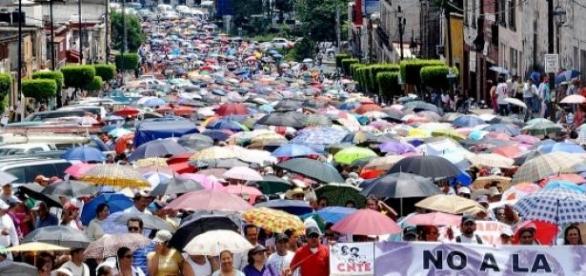 CNTE intensificará sus protestas en el país