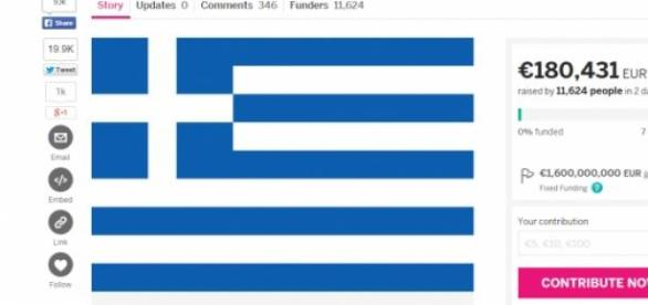 Crowdfunding the Greece bailout