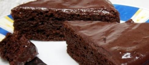 Alakbarát csokis-baracklekváros sütemény