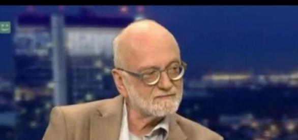 Jurgen Roth w TV Republika (print scrn)