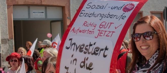 Verdi Streik.