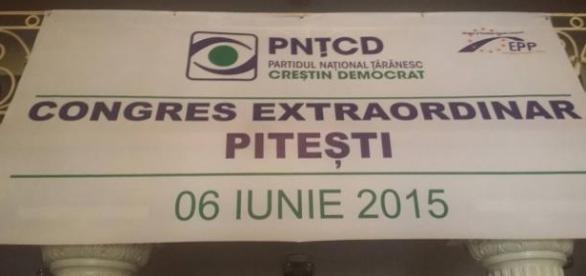 Congresul Extraordinar al PNTCD de la Pitesti