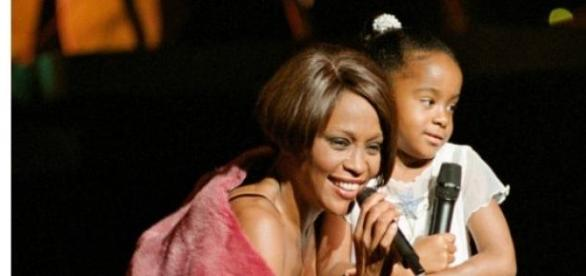 Whitney Houston i córka Bobbi Kristina