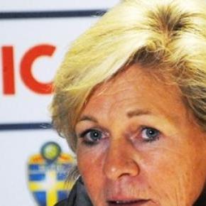 Silvia Neid - Trainerin der deutschen Kickerinnen