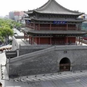 Caravana în orașul  Zhangye, credit People.cn