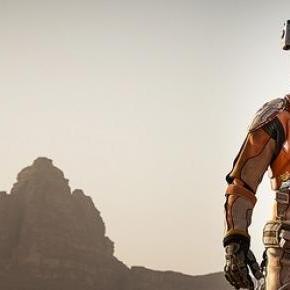 Matt Damon survives the red planet in The Martian