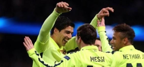 A MSN foi chave para o sucesso do Barcelona