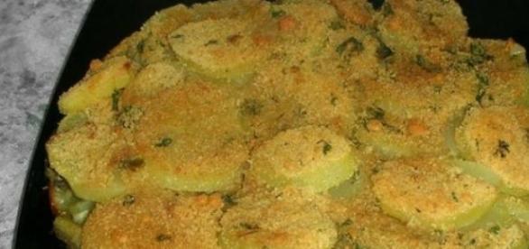 Il contorno di patate e carciofi