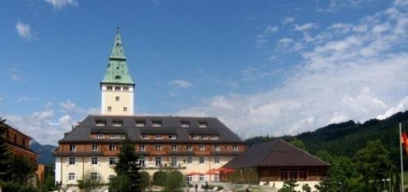 Schloss Elmau ist ein exklusives 5 Sterne-Hotel.