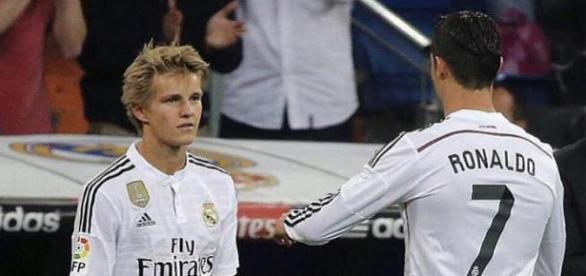 Odegaard não voltará a jogar com Ronaldo em breve