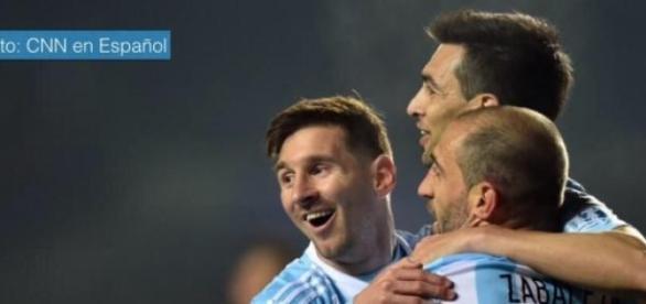 Argentina le ganó seis por uno a Paraguay