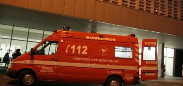 Bombeiros de Barcelinhos socorreram as vítimas.