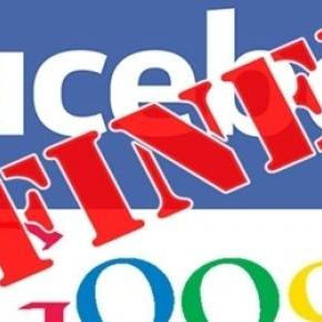 Google and Facebook fined by Brazilian court.