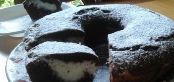 ecco come si presenta questa splendida torta