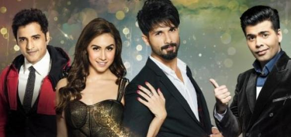 Shahid Kapoor and Lauren Gottlieb in JDJ Reloaded.