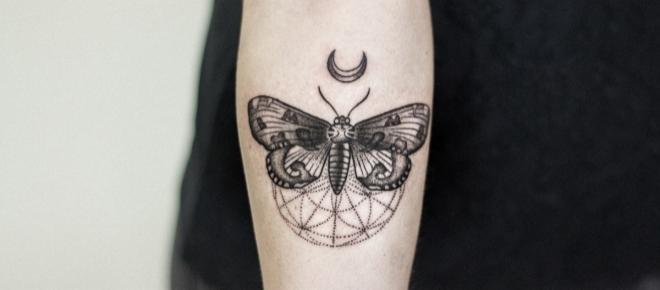 Tatuaż autorstwa krakowskiej artystki ze studiaRock'n'Ink Tatoo & Piercing.