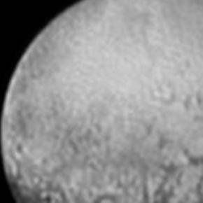 Jedno z pierwszych zdjęć Plutona