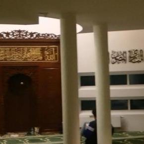Sala modlitw warszawskiego meczetu