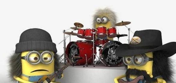illustration expérience musicale de groupe