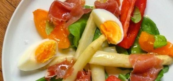 Un antipasto vegetariano.