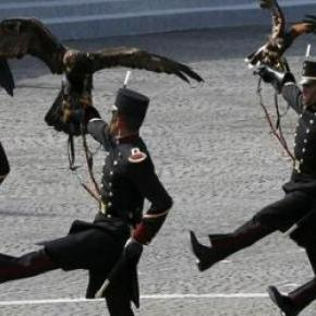 Cadetes del Colegio Militar en París.